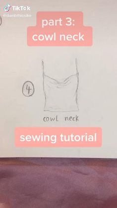 Diy Clothes Design, Diy Clothes And Shoes, How To Make Clothes, Sewing Clothes, Fashion Sewing, Diy Fashion, Sewing Hacks, Sewing Tutorials, Diy Kleidung Upcycling