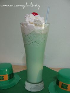 Homemade Shamrock Shake   Homemade Shamrock Shake Recipe  (alot better than all the added chemicals you'd get with McDonalds)