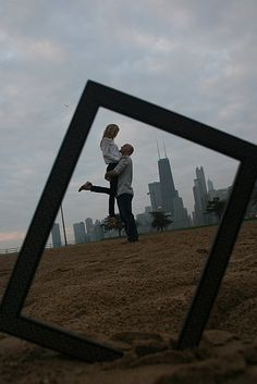 Cityscape picture frame photo opps!! Would LOVE to do these with Manhattan!! :)) Maybe when Steven and the girls are here to move me home in June we can!! :))