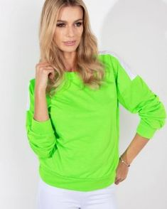 Dámska mikina NEON v trendy prevedení - Oblečiemsa. Neon, Sweaters, Tops, Fashion, Moda, Fashion Styles, Neon Colors, Sweater, Fashion Illustrations
