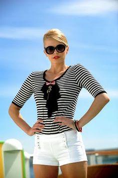 Women Nautical Fashion Chic by  Paul&Shark