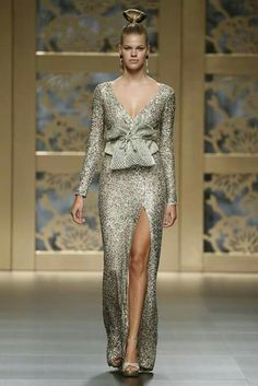 774372d98ade Carla Ruiz, Wedding Guest Looks, Shades Of Gold, Couture Fashion, Formal  Outfits