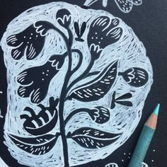 Oana Ispir (@oanaispir) • Fotografii şi clipuri video Instagram Tribal Tattoos, Linocut, Tribal, Tattoos