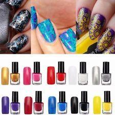 10 Colors Professional Nail Art Stamping Painting Printing Varnish Polish Manicu