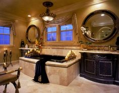 Great Idea 12 Best Luxury Bathroom Decoration Ideas To Beautify Your Bathroom Finding the design essence of a luxurious appearance in hotels is the main thing. What should the dream bathroom design look like? Can bathroom. Unusual Bathrooms, Dream Bathrooms, Dream Rooms, Beautiful Bathrooms, Master Bathrooms, Luxury Bathrooms, White Bathrooms, Small Bathrooms, Tuscan Bathroom
