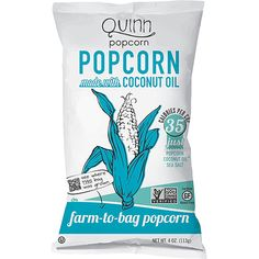 Quinn Popcorn Farm-to-Bag with Coconut Oil