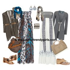 Trendy casual hijab maxi dress 2 - Just For Trendy Girls