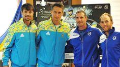 The national team of Ukraine has beaten Israel in the Davis Cup