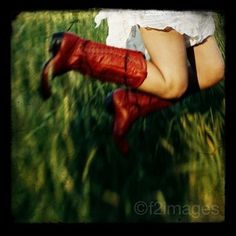 flying cowboy boots