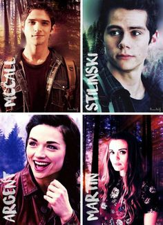 OT4 - Scott, Stiles, Allison, and Lydia