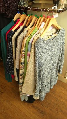 There's a chill in the air, time to grab a chunky knit from your nearest Oxfam shop!