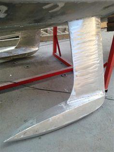 Décembre 2010 - Patagonie 36, coque biquille aluminium et superstructures bois... - Actualités construction navale en Bretagne : nos réalisations - CNA Yachting