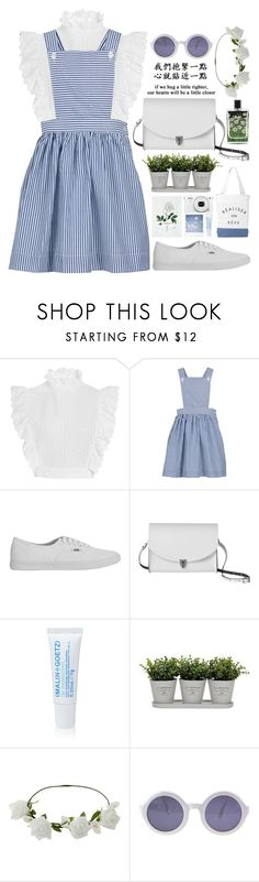 """""""If after all we only live twice, which life is the run road to paradise?"""" by astoriachung ❤ liked on Polyvore featuring Philosophy di Lorenzo Serafini, Garden House, Vans, FUCT, The Cambridge Satchel Company, (MALIN+GOETZ), Torre & Tagus, Miss Selfridge, Chanel and Nest Fragrances"""