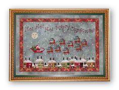 Santa's Midnight Ride by Praiseworthy Stitches
