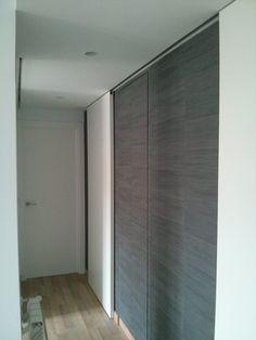 perspectiva desde la cocina a la habitacin del fondo en catro paredes nos