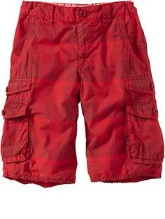 Boys Pull-On Cargo Shorts | Old Navy 10.00 | Boys to men | Pinterest