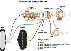 wiring an import 5 way switch guitar mod ideas in 2018 pinterest electrical switch wiring diagram telecaster 3 way switch wiring diagram also telecaster seymour duncan wiring diagrams in