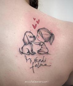 Gorgeous Watercolor Sketch Tattoos by Michele Mercuri - Tattoosphera - Picbi . - Gorgeous Watercolor Sketch Tattoos by Michele Mercuri – Tattoosphera – Picbilder- Wir Für Bild - Gorgeous Tattoos, Cute Tattoos, Body Art Tattoos, Symbol Tattoos, Diy Tattoo, Tattoo Sketches, Tattoo Drawings, Drawing Sketches, Tatoo Dog