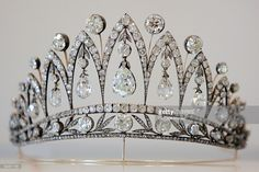 The Empress Josephine Tiara, c. 1890. Found in the collection of Houston Museum of Natural Science. (Photo by Fine Art Images/Heritage Images/Getty Images)