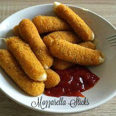 Mozzarella sticks - bastoncini di mozzarella fritti