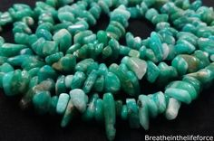 Green Amazonite Chip Beads Crystal information uses and Green Amazonite Chip Beads benefits Breathe In The Lifeforce Your #1 Audio Affirmations and Crystal Database.
