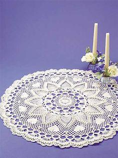 Ravelry: Romantic Pineapples Doily pattern by Jo Ann Maxwell