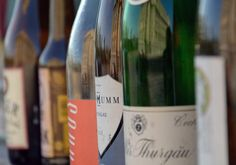 Bottles Of Wine In A Row Free Stock Photo - Libreshot