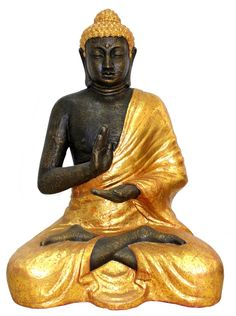 Buda sentado dorado 150cm | AW Regalos Buddha, Dora, Feng Shui, Images, Bamboo, Ebay, Spirituality, Licence Plates, Craft