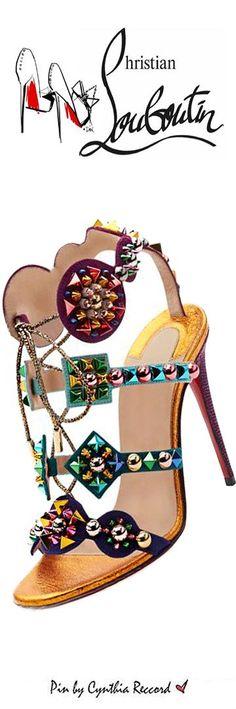 Women's Fashion High Heels :    Christian Louboutin | SS 2016 | cynthia reccord  - #HighHeels https://youfashion.net/shoes/high-heels/best-womens-high-heels-christian-louboutin-ss-2016-cynthia-reccord/