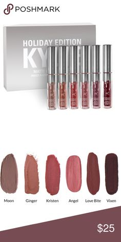 VIXEN - Kylie Mini Lip Kit Holiday Edition 100% authentic, brand new. This listing is for one mini (color stated in title). NO TRADES OR PAYPAL. Price is firm. Kylie Cosmetics Makeup Lipstick