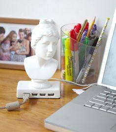 Aphrodite USB Hub by Fred Flare