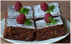 Cuketové řezy Nutella, Deserts, Food And Drink, Pudding, Baking, Sweet, Garden, Candy, Garten