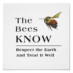 ≗ The Bee's Reverie ≗ The Bees Know Poster
