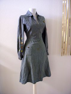 Vintage Early 40s Girl Scout Uniform