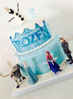 Disney frozen cake - Cake by PaulasCraftyCakes - CakesDecor