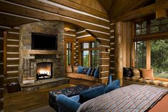 Bitterroot Montana Log Home for Sale   Architectural Digest