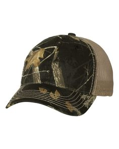 505b2fe0 Outdoor Cap - Mesh Back Camo Cap - RTC350M Black/ Realtree APC