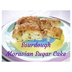 The Cobweb: Sourdough Moravian Sugar Cake - Sourdough Surprises Coffee Cake