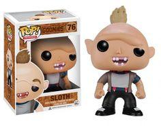 """Cabezón Sloth. Los Goonies. POP Games. Funko Estupendo cabezón del personaje <b>Sloth</b> de 9 cm de altura aprox., el monstruo simpático del film perteneciente a la divertida y popular película <b>""""Los Goonies""""</b> estrenada en el año 1985 con enorme éxito en todos los cines."""