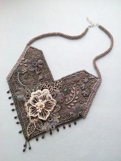 Картинки по запросу textile jewelry