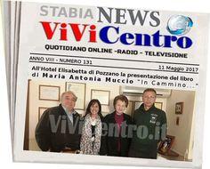 All'Hotel Elisabetta di Pozzano la presentazione del libro di Maria Antonia Muccio ''In Cammino''