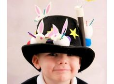 Still need to make your kids' Easter bonnets and bunny ears? Look no further for inspiration and instructions for quick and easy Easter hats in no time. Ben Easter, Boys Easter Hat, Easter Bonnets For Boys, Easter Hat Parade, Easter Crafts For Kids, Easter Bunny, Diy For Kids, Easter Eggs, Easter Ideas