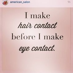 6 Likes, 2 Comments – D'Luxe hair designs Studio ( on In… - Modern Hair Qoutes, Hair Salon Quotes, Curly Hair Quotes, Natural Hair Quotes, Hair Sayings, Hairstylist Memes, Hairdresser Quotes, Cosmetology Quotes, Cosmetology Student