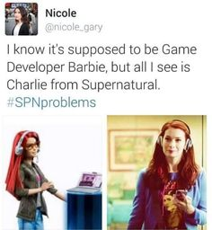 So are you supposed to leave her in a bathtub for Sam and Dean to find?