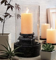 PartyLite® Candles Harmony Fountain. Contact me for more information how to get this product or any other product for free.   www.partylite.biz/stenlundh