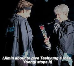 Yoongi getting jealous