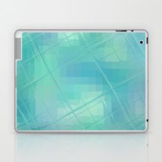 #Re-Created #Twisted SQ XXXVI #Laptop & #iPad #Skin  by #Robert #S. #Lee  - $25.00