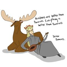 "THIS. IS. THE. BEST. ONE. YET. #Frozen #Hobbit #Thranduil ""Son, don't you think that's true?"""