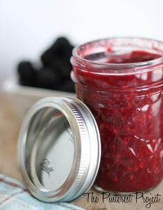 Honey berry jam.