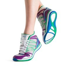 In a variety of striking colours, Bloch's Dance Sneakers are ideal for a number of fitness activities.